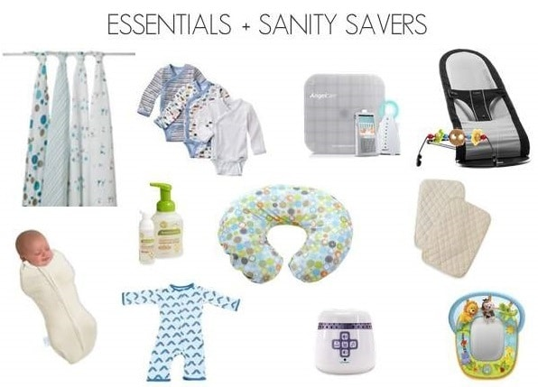 Newborn Baby List Essentials