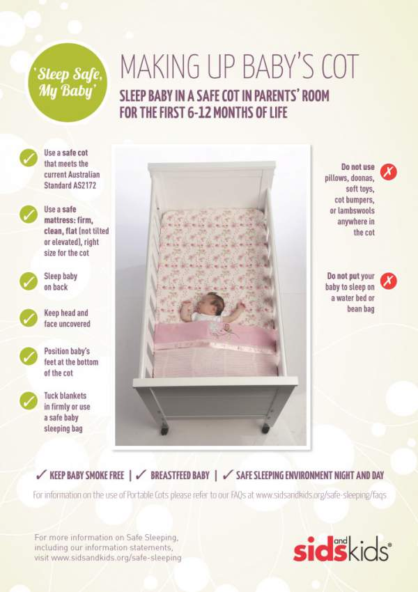 Cot Safety SIDS