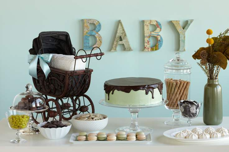 Pics Photos Baby Shower Themes Rustic Vintage Ideas