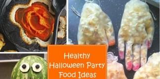 Healthy Halloween Party Food