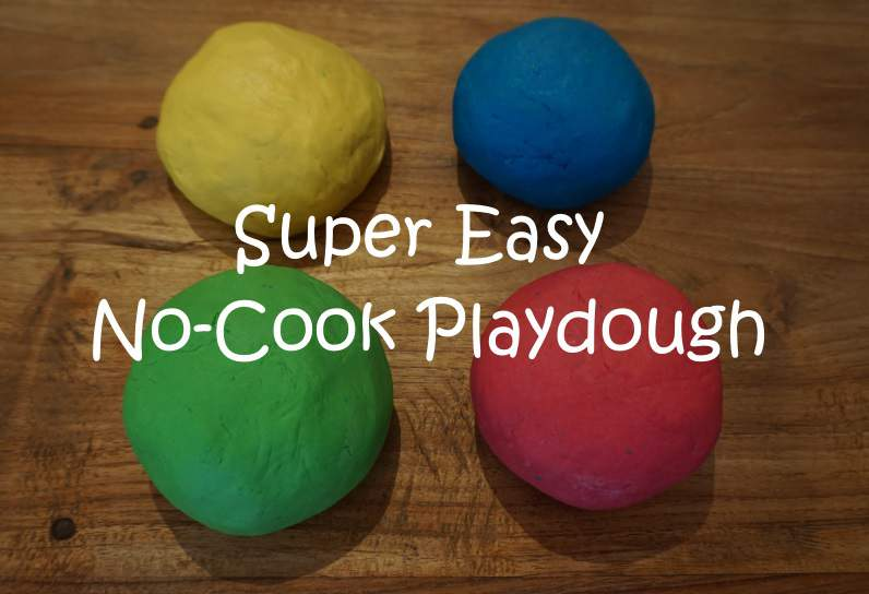 No Cook Playdough Recipe The Best Easiest