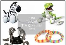 Toys to Avoid