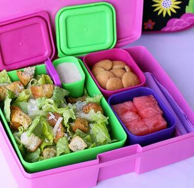 Caesar Salad Kids Lunch Box