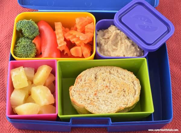 hummus kids lunch box