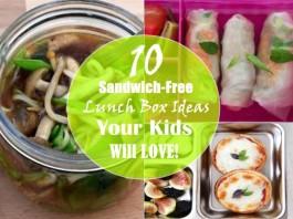 sandwich-free kids lunch box ideas