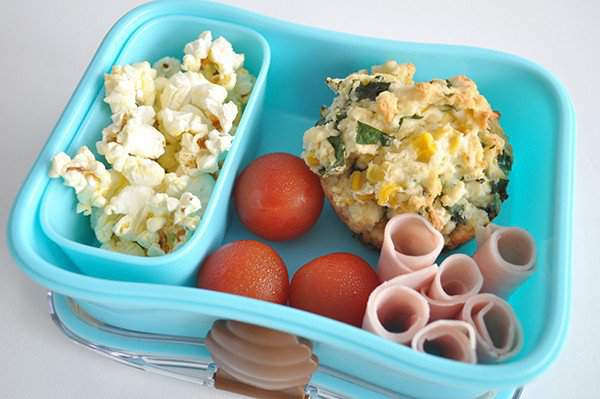 Savury Muffins Kids Lunch Box