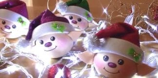 Christmas Elf Ornaments